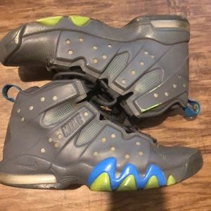 A pair of Nike air max Charles Barkley's